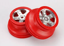 TRAXXAS 5972A Cerchi SLAYER Rossi/WHEELS SLAYER RED TRAXXAS