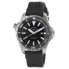 Zeno Men's Divers Black Dial Black Rubber Strap Automatic Watch 6603-2824-A1