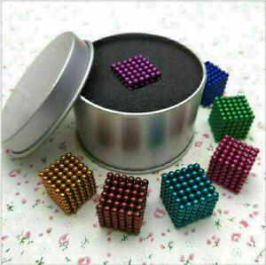Kreativität 216 5mm Magnet Magnet Neodym Würfel Kugeln Sphere DIY Stress Relief