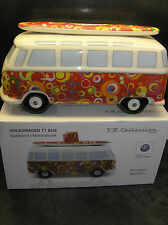 OFFICIAL VW VOLKSWAGON COLLECTION BRISA CAMPER VAN MONEYBOX BUMB16 LICENSED NEW