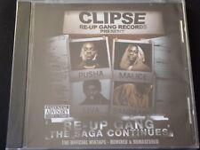 Clipse Presents Re-Up Gang The Saga Continues (SEALED NEW CD 2008) MIXTAPE