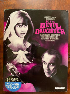 To the Devil a Daughter Blu-ray + DVD 1976 Hammer Horror Movie w/ Slipcover