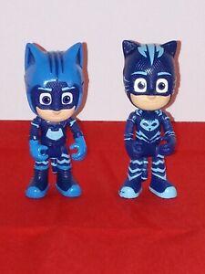 "PJ Masks 3"" Action Figures Toy Lot - 2 different Catboy"