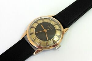 1950s GENTS GOLD CAPPED STEEL ZODIAC GLORIOUS HERMETIC IN GOOD CONDITION