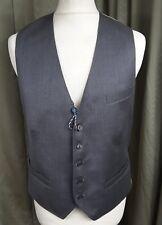 BNWT Ted Baker Debonair 100% Italian Wool Grey Waistcoat 40R RRP £120 €155