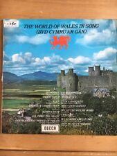 Spa 42 The World Of Wales In Song / Byd Cymru Ar Gan - Decca Lp Record
