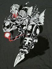"""The Girl and the Robot"" Final Fantasy VI Terra Women's Medium Shirt Theyetee"