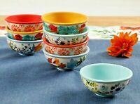 Pioneer Woman Flea Market 8 Piece Dipping Bowls Set - New in Box, Free Ship!