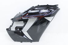 06-11 KAWASAKI NINJA ZX14 BLACK OEM RIGHT MID UPPER SIDE FAIRING COWL PLASTIC
