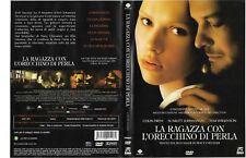 LA RAGAZZA  CON L'ORECCHINO DI PERLA [2003] dvd ex noleggio