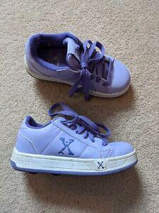 Size 12 Purple Heeleys Heelies Girls Roller Shoes