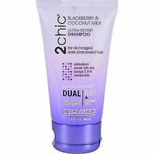 Giovanni 2chic Ultra Repair Shampoo Blackberry and Coconut Milk 1.5 Fluid Ounce