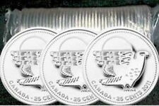 Canada - 25 cents 2011 - Peregrine Falcon