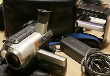 Sony Handycam CCD-TRV608 Hi-8 Analog Camcorder Works Great!!! with EXTRAS
