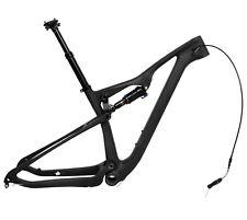 29er 17.5 Full Suspension Carbon Frame Rockshox shock Mountain Bike Dropper Post