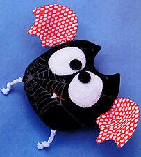 SEW BATTY - Sewing Craft A6 Creative Card PATTERN - Bat Bats Halloween Witches