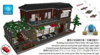 Lego Italian Restaurant Instructions Modular Custom Building Friends City Town