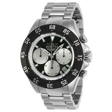 NEW Men's Invicta SPEEDWAY 22396 Chronograph Black Dial Watch NO RESERVE $595