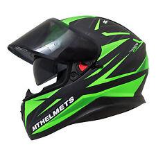 MT Thunder 3 SV Effect Limited Edition Matt Helmet Motorcycle Motorbike Green