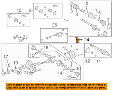 TOYOTA OEM 96-00 RAV4 Axle Differential-Rear-Support 5238042082