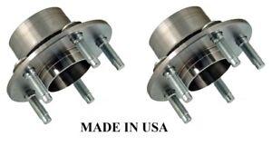 Rear Wheel Hub & Bearing Set of 2 Kit for 90-00 Sable Ford Taurus MADE IN USA