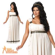 3e5c5e1a39f Olympic Goddess Plus Size Fancy Dress Costume Roman Greek Adult Ladies 1xl  16-18