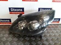 Vectra C Signum Left Passenger N/S Head Lamp Light Facelift Black