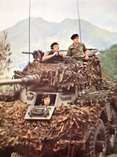 M611 ephemera picture 1971 Hong Kong Queen's Own Hussars On Patrol