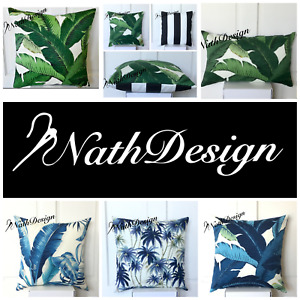 Outdoor Tommy Bahama Tropical Palm 45cm Cushion  Pillow Cover