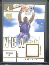 2003-04 Skybx LE Rookie Sky's the Limit Gold Relic #SL-CB Chris Bosh No 8 of 10