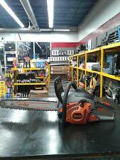 USED Tanaka Gas Powered 50:1 Fuel Chainsaw 14 inch Bar Length 32cc Engine Tree