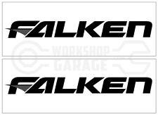 FALKEN TYRES   Large Stickers x 2