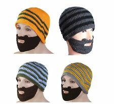 Beard Beanie HAT - Head and Face Warmer - Hand Made Snowboarding Camping Skiing.