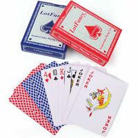 2 Decks Playing Cards Poker Size Standard Index Blackjack Euchre Pinochle Game