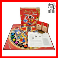 Trivial Pursuit Board Game Disney Pixar Special Red Edition Hasbro Family Trivia
