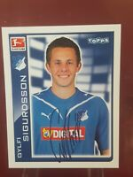 Gylfi Sigurdsson Hoffenheim Everton Bundesliga 2011 Topps Rookie Sticker