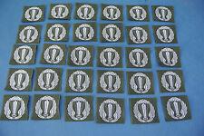 stock 30 patch in stoffa paracadutisti battaglione Nembo