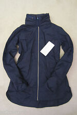 Lululemon Rain Supreme FO Drizzle Jacket Deep Navy Blue 12