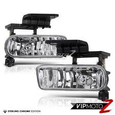 Chevy Silverado 99-02 Truck SS 1500/2500 Replacement Clear Fog Light Bumper Lamp
