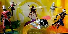"""Disney Marvel Antman & The Wasp Action Figure 6 Set Figurine """"3"""" In Ant-man New"""
