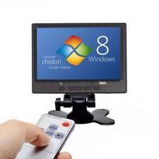 7'' TFT-LCD 1024*600 HDMI VGA AV Monitor HD Car PC Display for Raspberry Pi 3B+