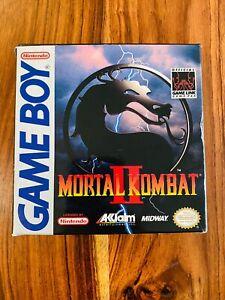 🔥Mortal Kombat 2 II Nintendo Gameboy GB Box ONLY