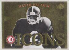 2012 Upper Deck Alabama Football Icons David Palmer #IDP