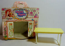 EL GRECO 80'S VTG HAPPY HAPPY SISTERS KITCHEN TABLE FURNITURE DOLL HOUSE SET MIP
