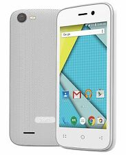 Unlocked Smart Cell Phone 4G GSM Tmobile MetroPCS Straight Talk Simple  Z404WHT