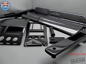 Aston Martin DB9 Custom Carbon Full Replacement 11 Pieces Interior Trim Kit