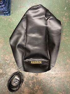 motorcycle Seat Cover Regent Roadster 125 125cc Chrome Trim Clips Black Minsk
