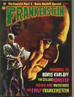 Castle Of Frankenstein #24-1974 fn- 5.5 Boris Karloff / Linda Blair Exorcist