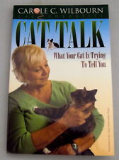 """Cat Talk"" book by C Wilbourn, Cat Therapy ~ What Your Cat Is Trying To Tell You"