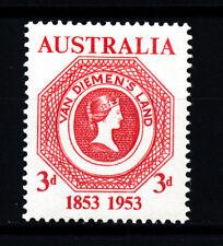 AUSTRALIA 1953 FIRST CENTENARY OF TASMANIA POSTAGE SG271 BLOCK OF 4 MNH